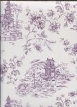 Ami Charming Prints Wallpaper Laure 2657-22222 By A Street Prints For Brewster Fine Decor